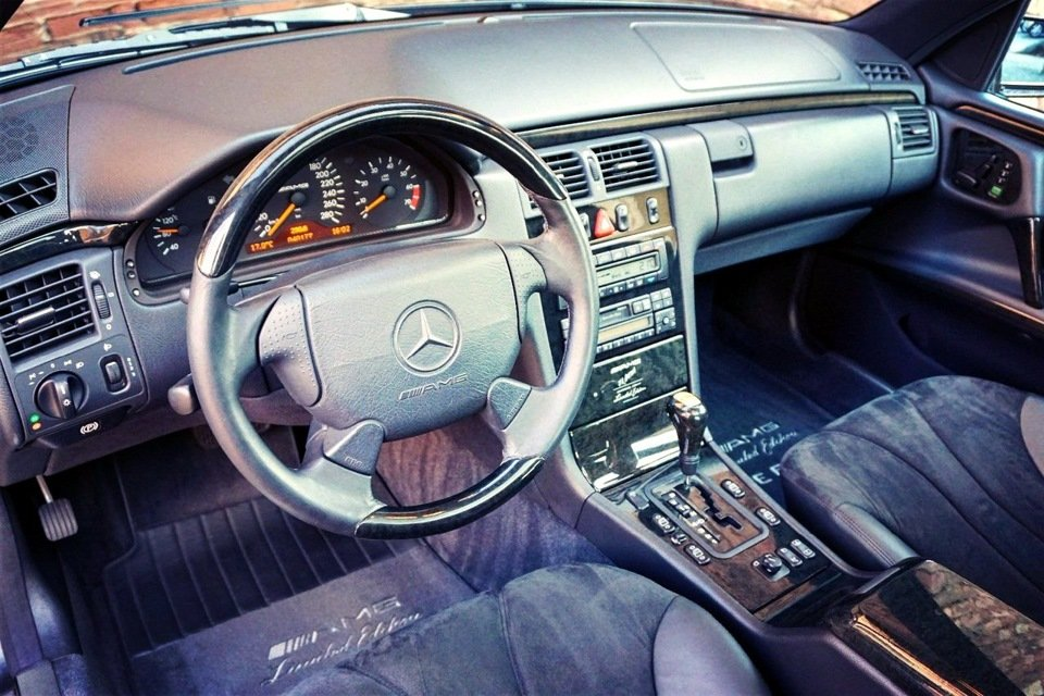 Mercedes-Benz E60 AMG W210 Limited Edition1997 (2)