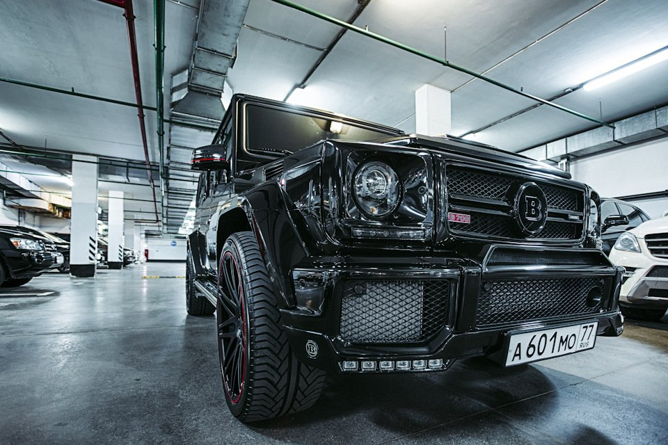 Mercedes-Benz G63 AMG Brabus G700 W463 (6)