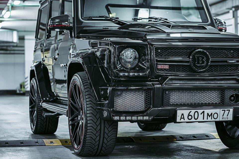 Mercedes-Benz G63 AMG Brabus G700 W463 (9)