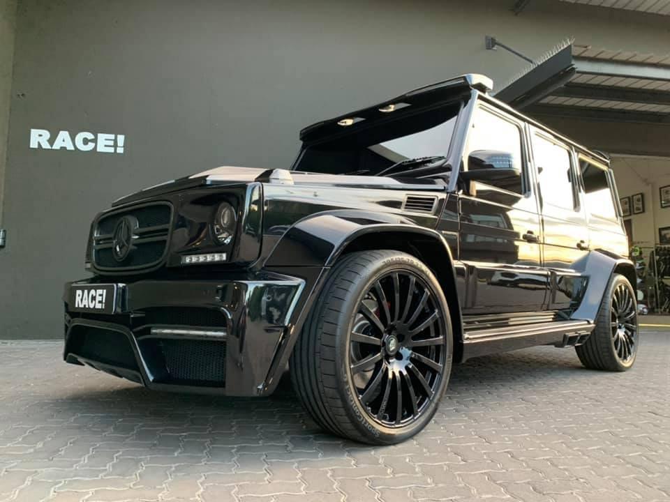 Mercedes-Benz G7 Onyx Edition W463 (11)
