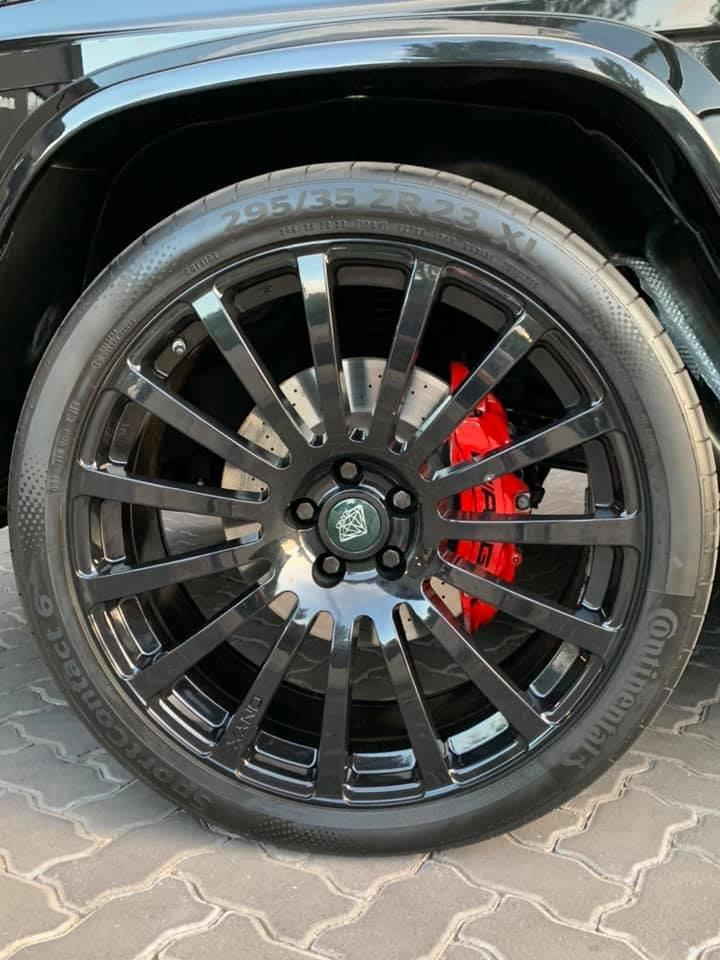 Mercedes-Benz G7 Onyx Edition W463 (9)