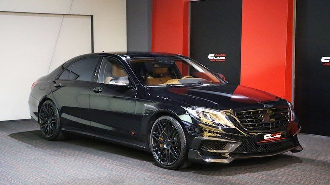 Mercedes-Benz S-Class W222 BRABUS EDITION (1)