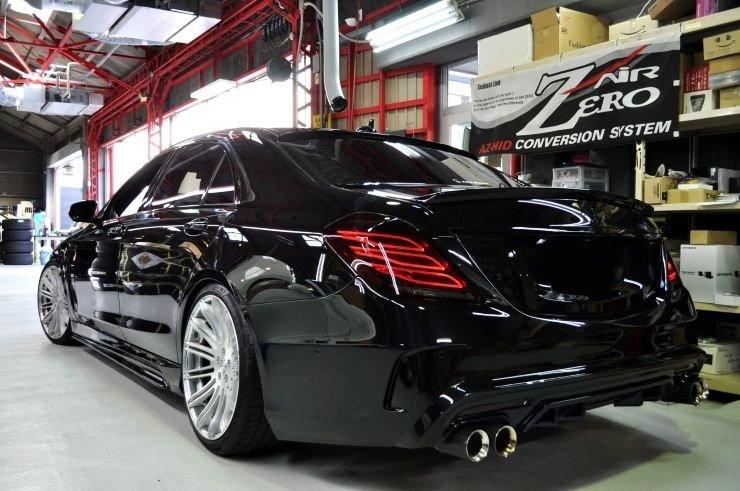 Mercedes-Benz S550 AIMGAIN W222 (8)