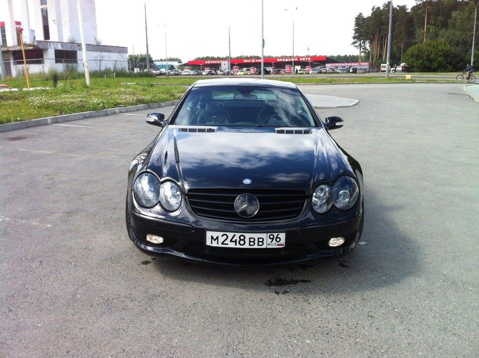 Mercedes-Benz SL55 AMG R230 (2)