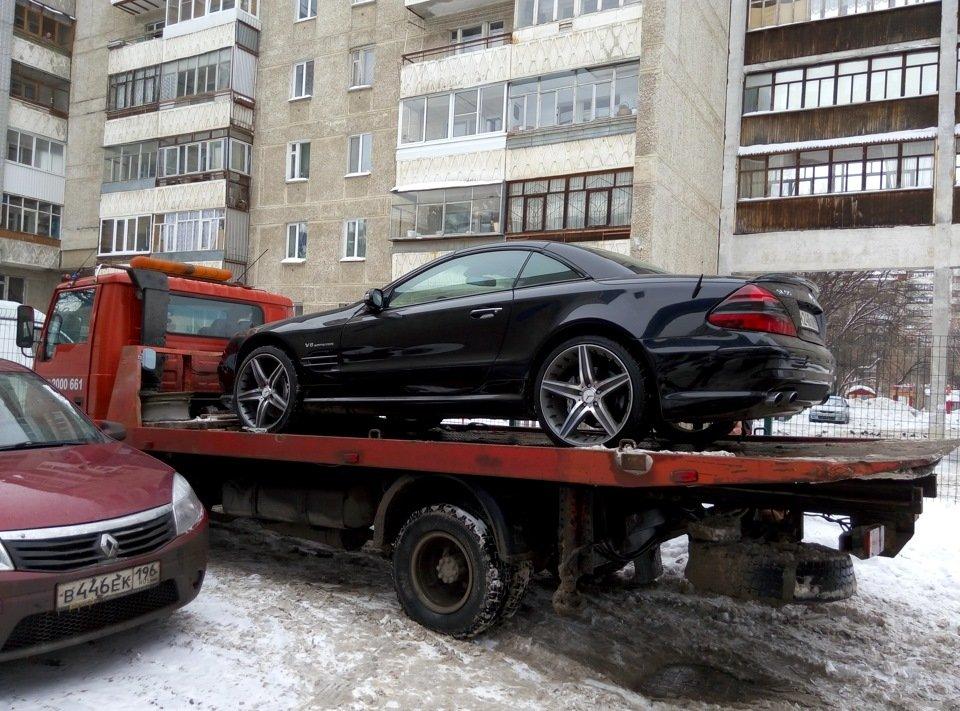Mercedes-Benz SL55 AMG R230 (44)