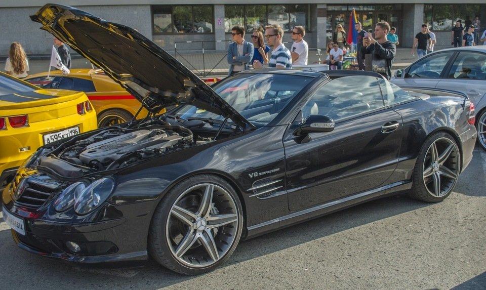 Mercedes-Benz SL55 AMG R230 (61)
