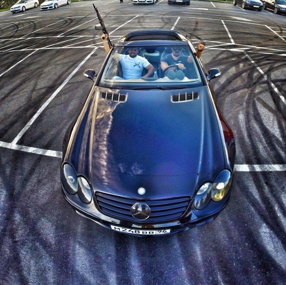 Mercedes-Benz SL55 AMG R230 (67)