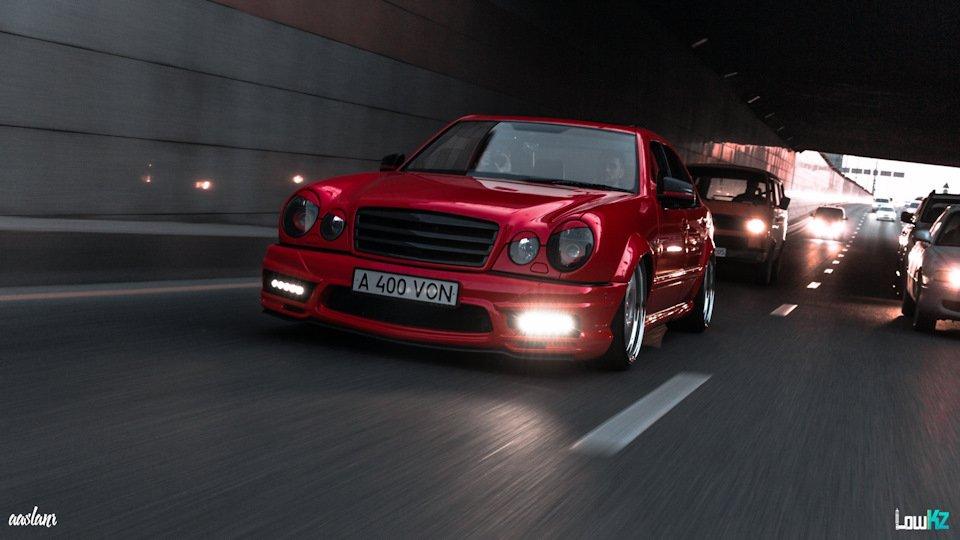 Mercedes-Benz W210 Е55K Kleemann (108)