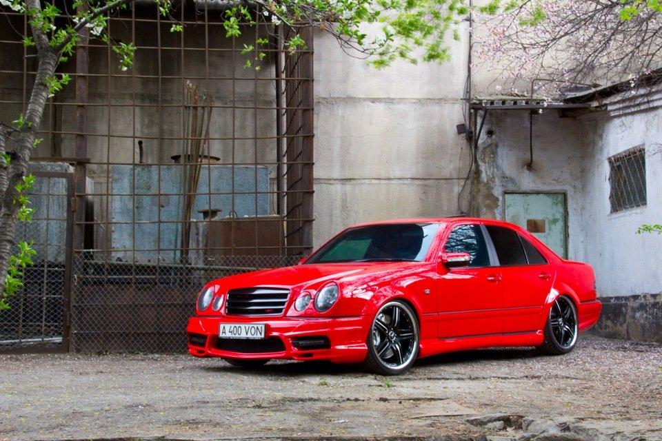 Mercedes-Benz W210 Е55K Kleemann (11)