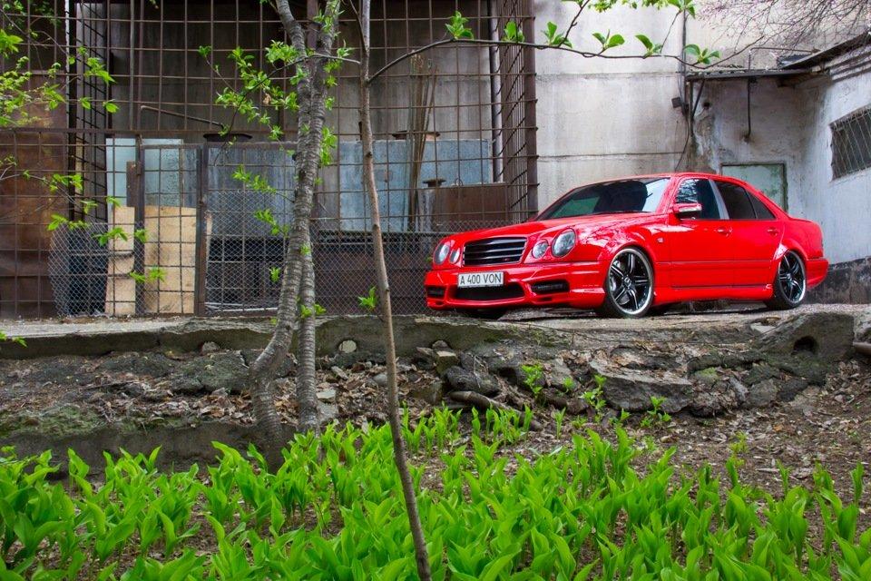 Mercedes-Benz W210 Е55K Kleemann (15)