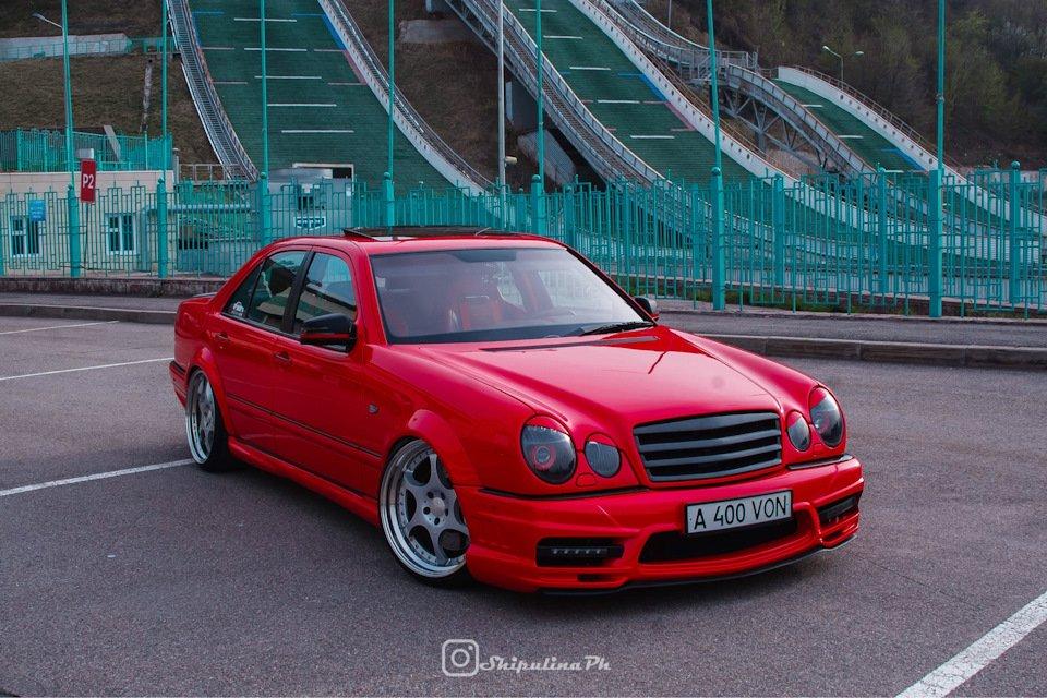 Mercedes-Benz W210 Е55K Kleemann (69)