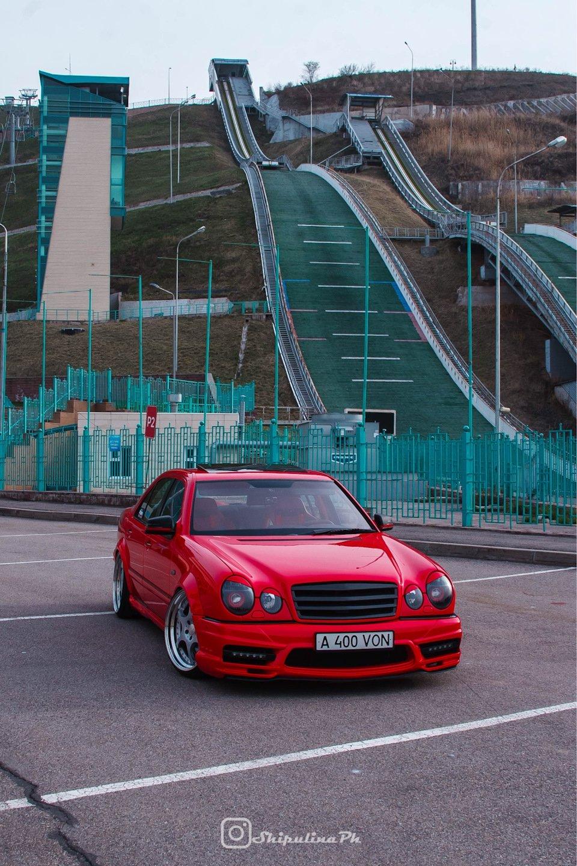 Mercedes-Benz W210 Е55K Kleemann (77)