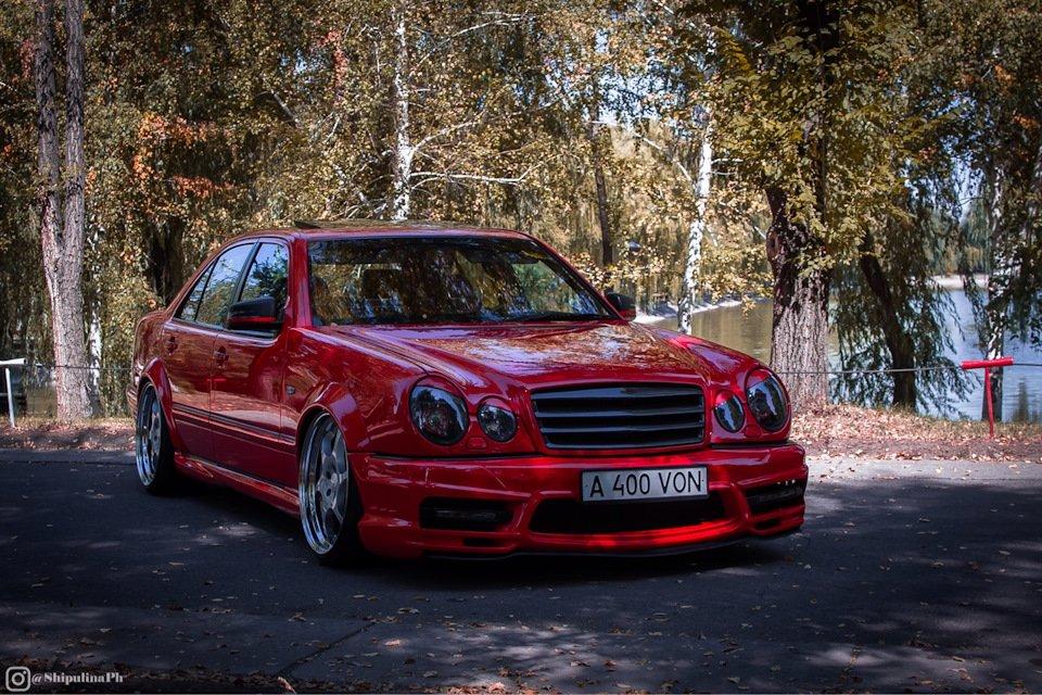 Mercedes-Benz W210 Е55K Kleemann (78)
