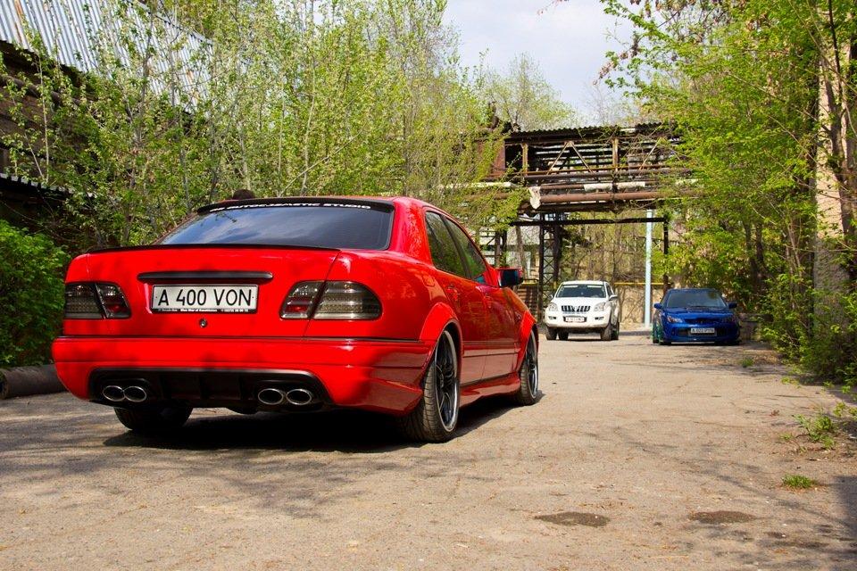 Mercedes-Benz W210 Е55K Kleemann (80)