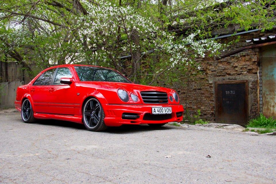 Mercedes-Benz W210 Е55K Kleemann (84)