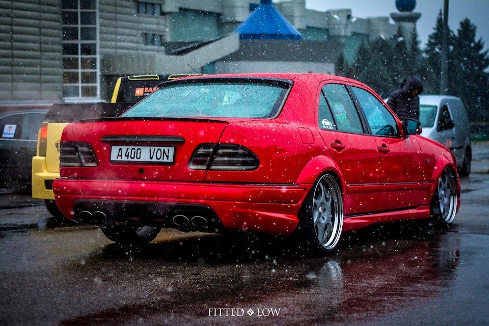 Mercedes-Benz W210 Е55K Kleemann (86)