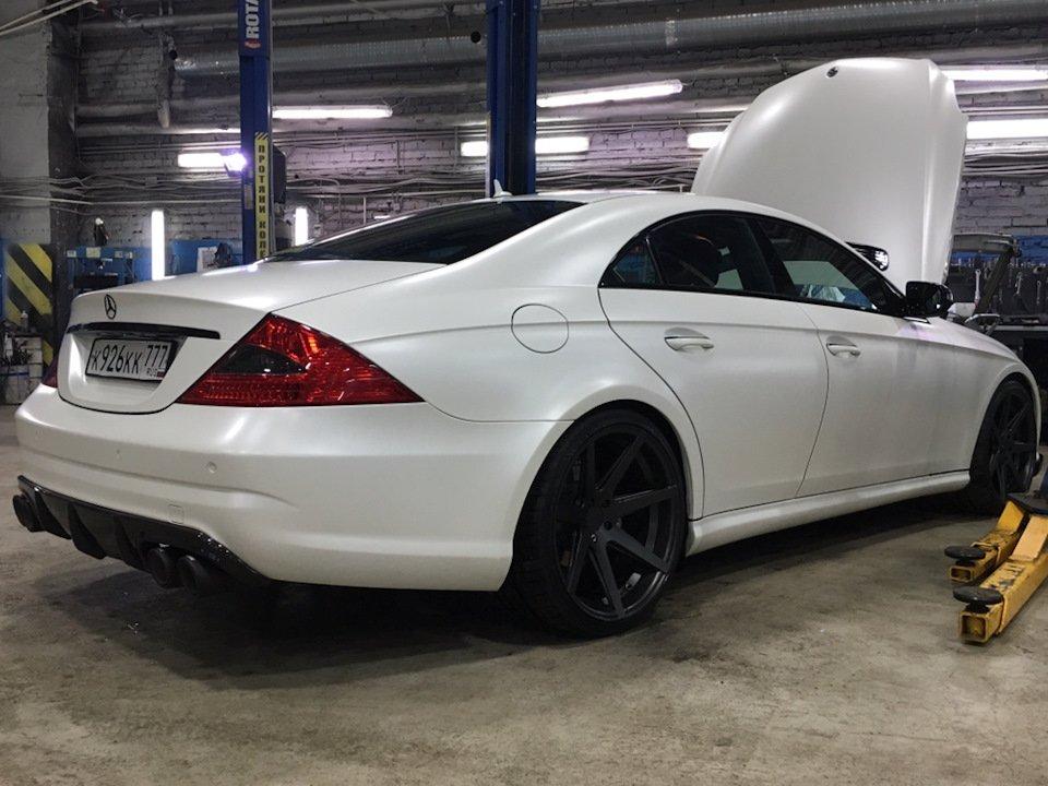 Mercedes-Benz W219 CLS Carbonized (182)