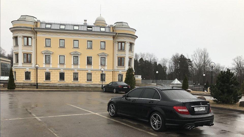 Mercedes C-class W204 АMG Styling (10)