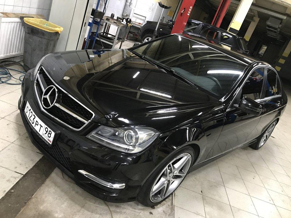 Mercedes C-class W204 АMG Styling (11)