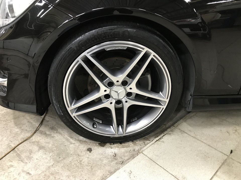 Mercedes C-class W204 АMG Styling (12)