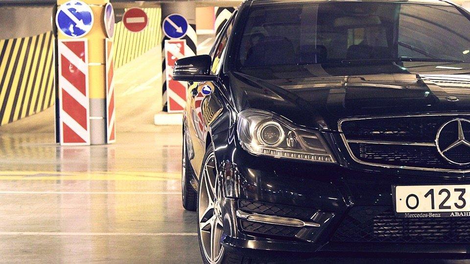 Mercedes C-class W204 АMG Styling (14)