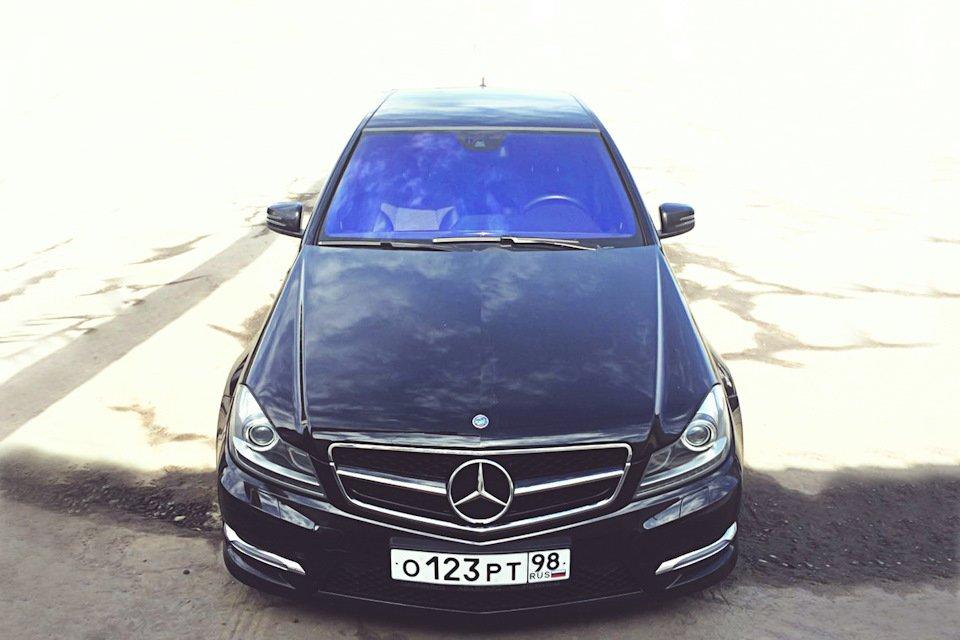 Mercedes C-class W204 АMG Styling (15)