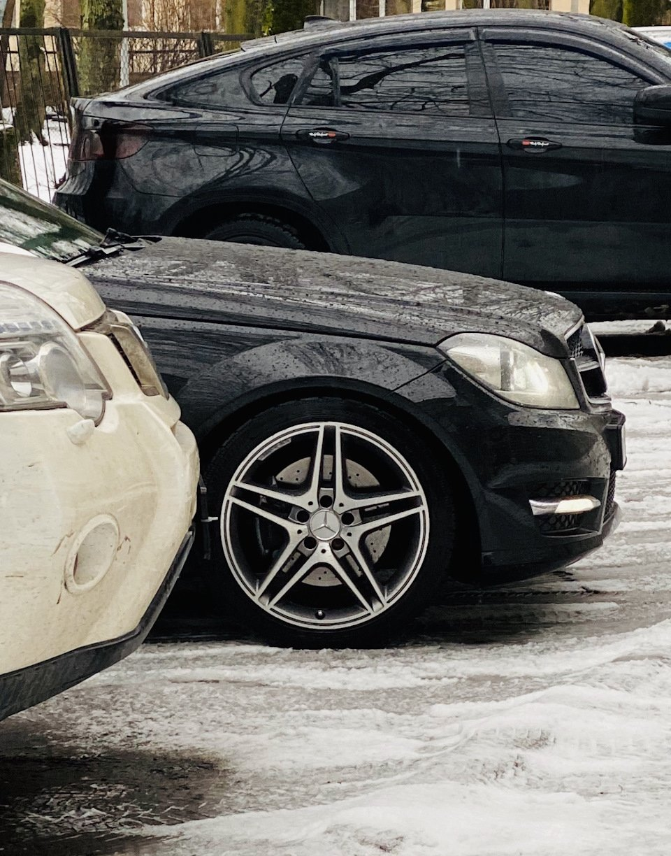 Mercedes C-class W204 АMG Styling (19)