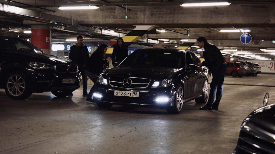 Mercedes C-class W204 АMG Styling (23)