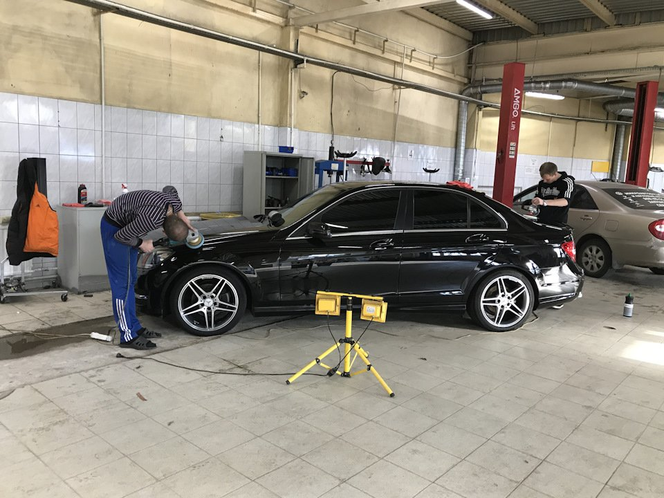 Mercedes C-class W204 АMG Styling (8)