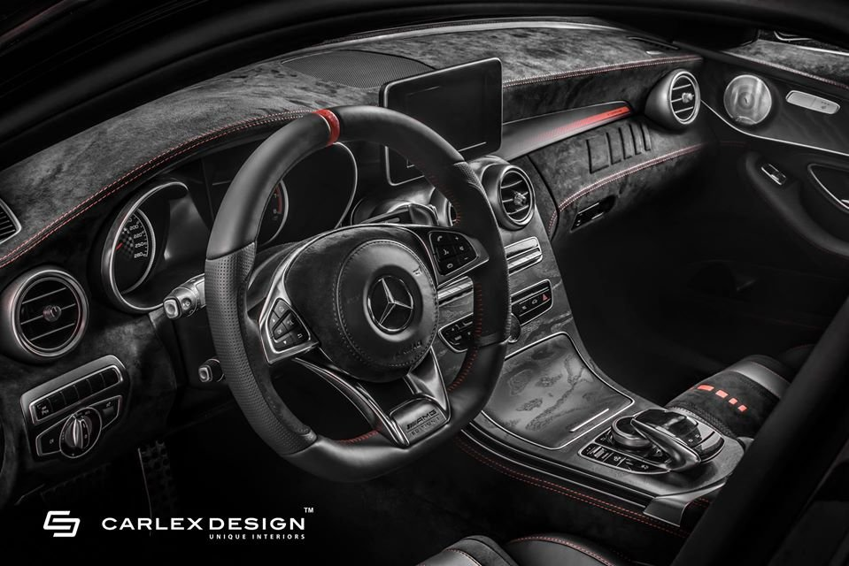 Mercedes C43 AMG By Carlex Design (10)