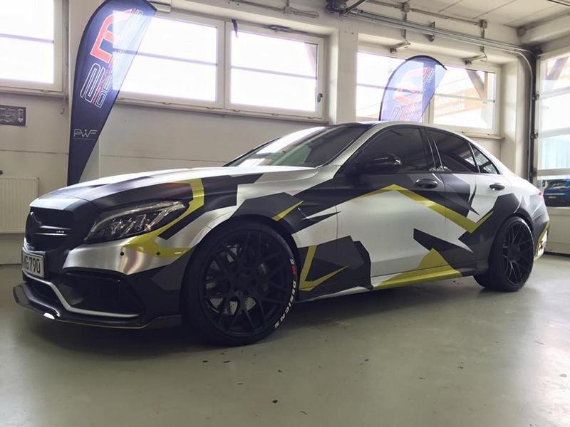 Mercedes C43 AMG By Carlex Design (24)
