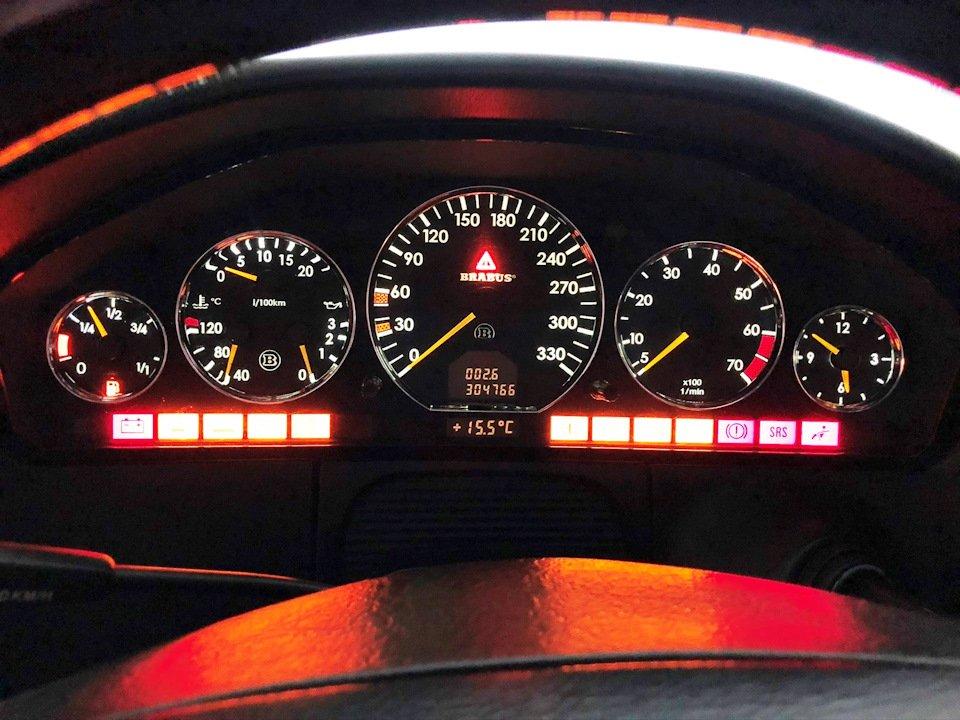 Mercedes CL600 С140 6.0 V12
