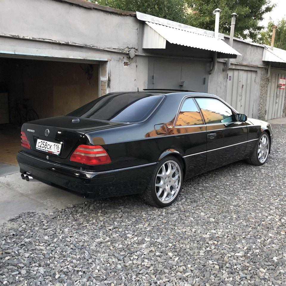 Mercedes CL600 С140 6.0 V12 (103)