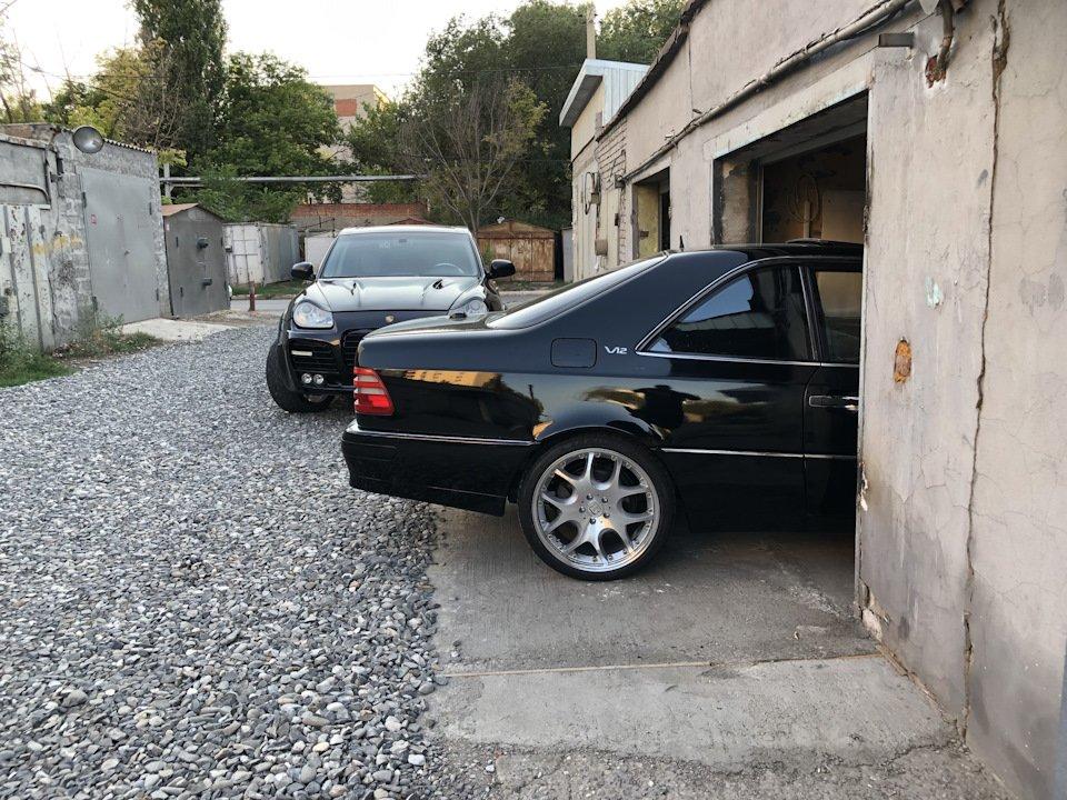 Mercedes CL600 С140 6.0 V12 (104)