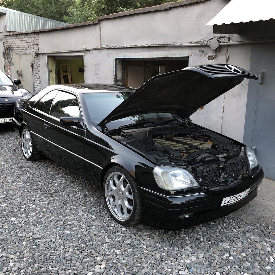 Mercedes CL600 С140 6.0 V12 (105)