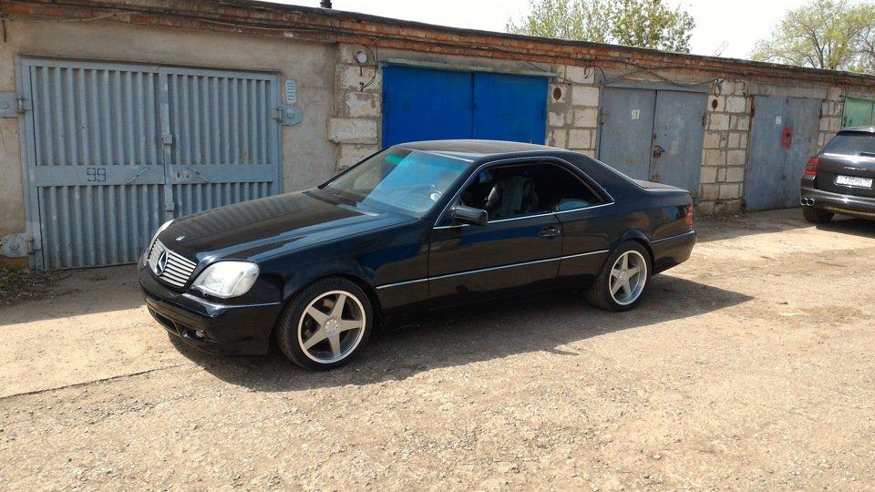 Mercedes CL600 С140 6.0 V12 (10)