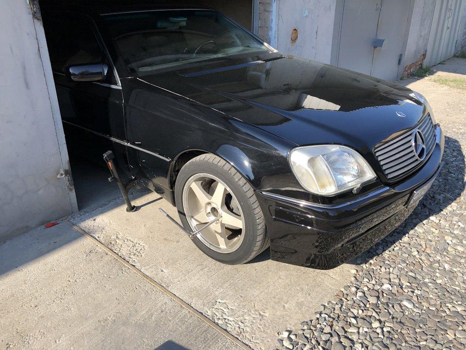 Mercedes CL600 С140 6.0 V12 (11)