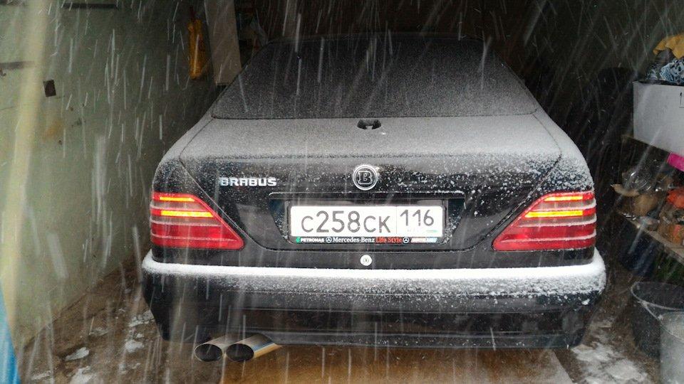 Mercedes CL600 С140 6.0 V12 (12)