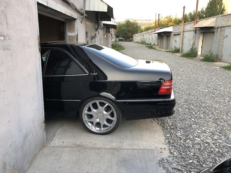 Mercedes CL600 С140 6.0 V12 (13)