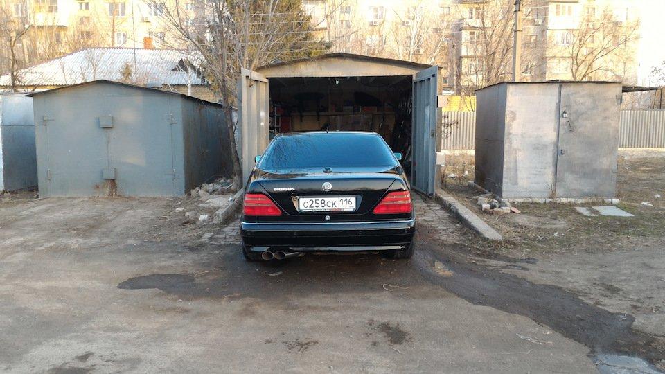 Mercedes CL600 С140 6.0 V12 (14)