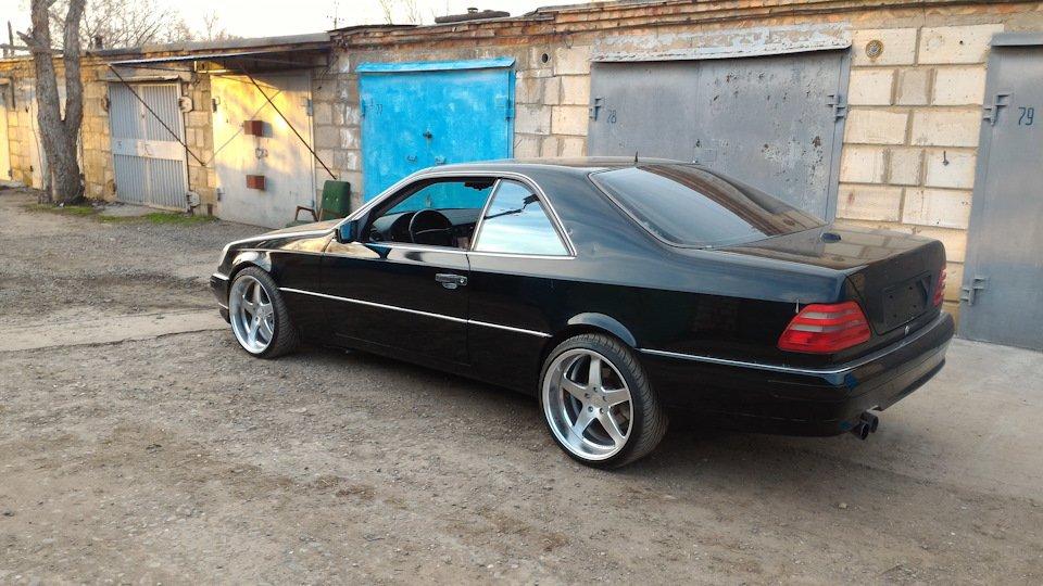 Mercedes CL600 С140 6.0 V12 (17)