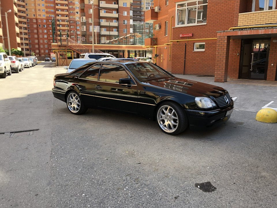 Mercedes CL600 С140 6.0 V12 (18)