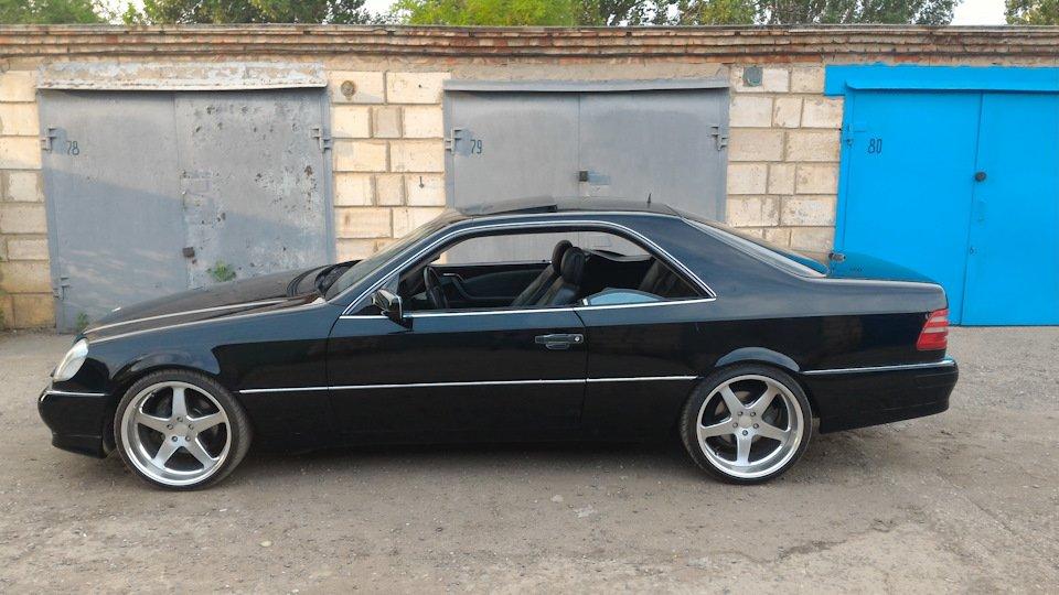 Mercedes CL600 С140 6.0 V12 (19)
