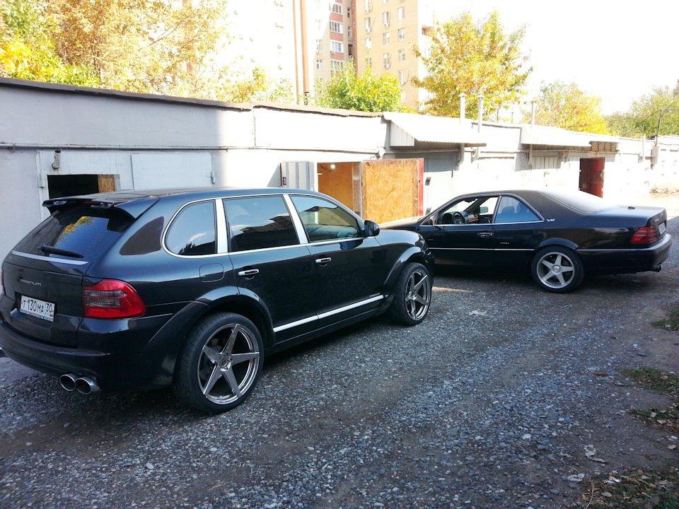Mercedes CL600 С140 6.0 V12 (1)