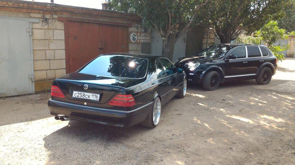 Mercedes CL600 С140 6.0 V12 (20)