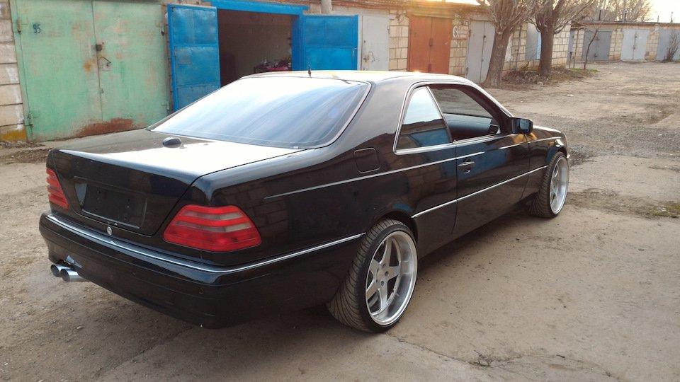 Mercedes CL600 С140 6.0 V12 (21)