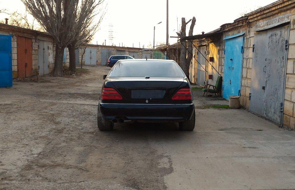 Mercedes CL600 С140 6.0 V12 (24)