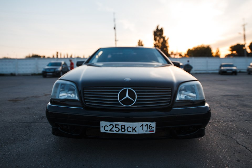 Mercedes CL600 С140 6.0 V12 (26)