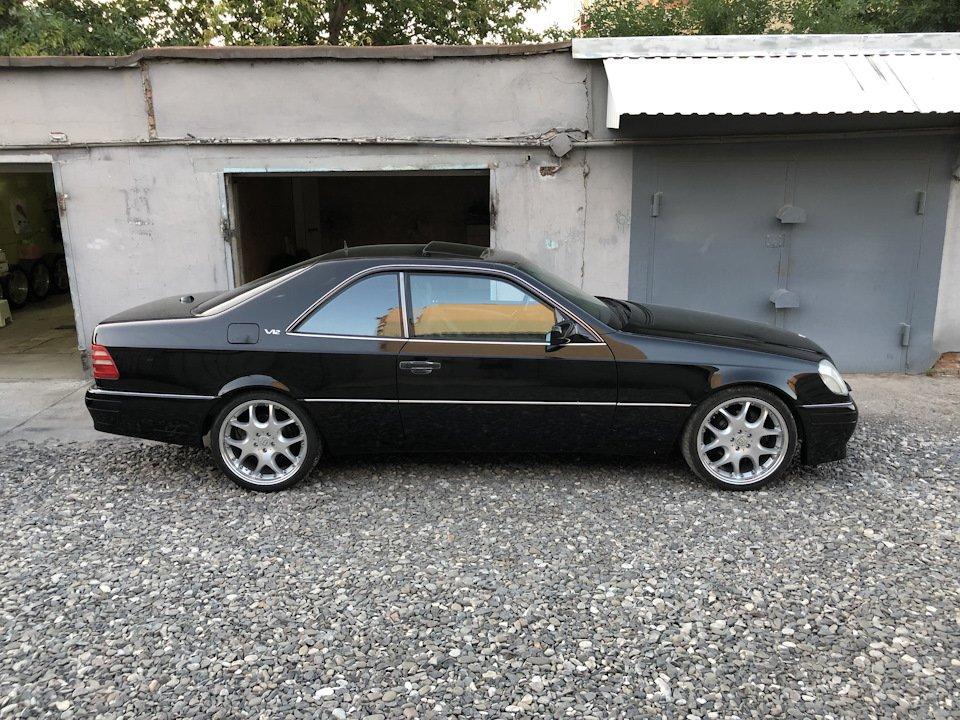 Mercedes CL600 С140 6.0 V12 (33)