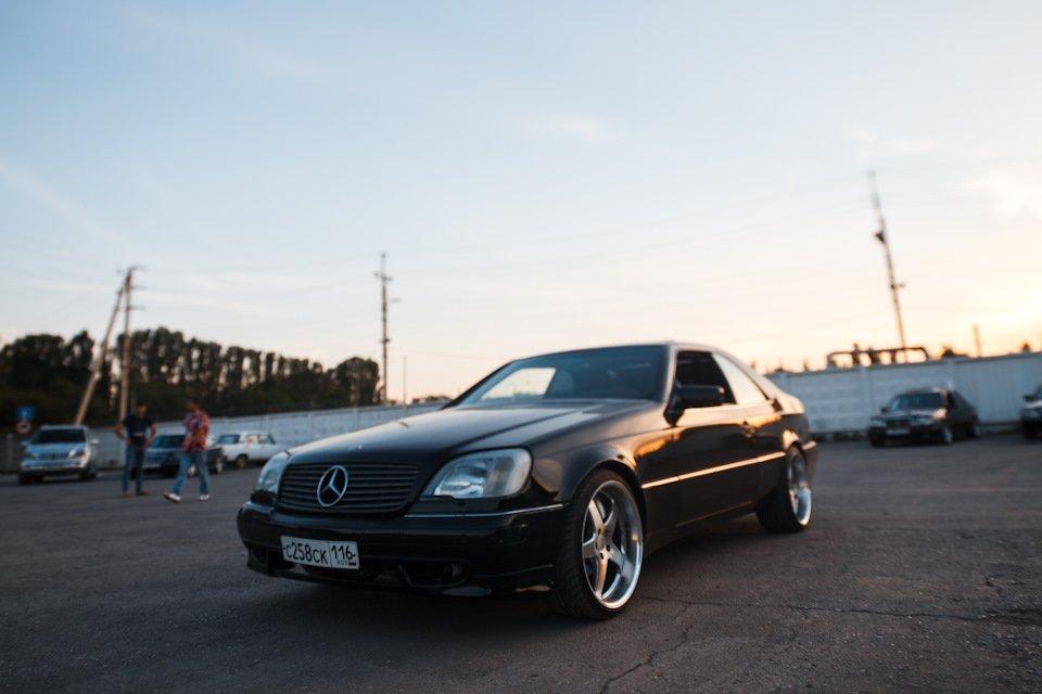 Mercedes CL600 С140 6.0 V12 (34)
